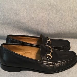 Cole Haan Stitchlite  Loafers Black Leather Size 9